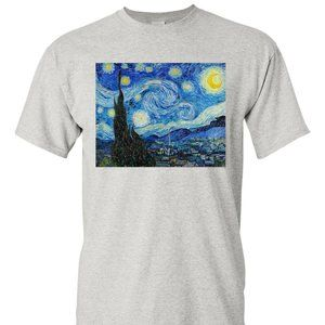 Other - Van Gogh T Shirt Starry Night Shirt